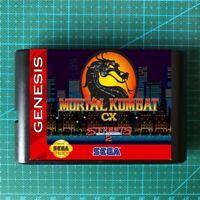 Mortal kombat CX Street Of Rage 2 Sega Genesis MegaDrive