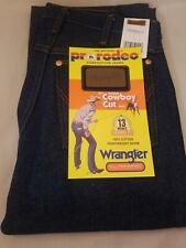 Wrangler 13MWZ Cowboy Cut Rigid Original Fit Jeans  27 x 30