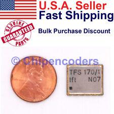 1510pcs Vectron Microchip Tfs1701 170 Mhz Saw Filter 185 Khz Bandwidth