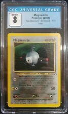 Magnemite 7/75 Neo Discovery Unlimited Holo Rare CGC 8 NM/Mint Pokemon TCG