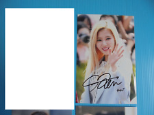 Twice Sana 4x6 Photo Korean autograph signed USA Seller KPOP 27