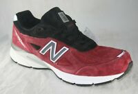 Men's 990v4 RED Made in USA MEN'S RUNNING SHOES TRAINING size 10.5