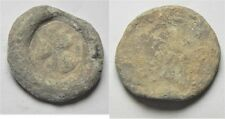 Zurqieh -aa3182- Byzantine. Lead Bulla With Cross