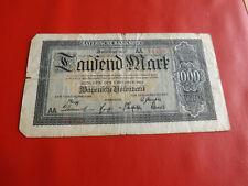 * Bayerische Banknote 1000 Mark 1922(ORD2)