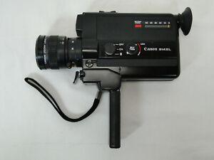 Canon 514XL Super 8 Filmkamera Zoom Lens C-8 9 - 45 mm 1:1.4 Macro Camera