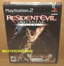 PS2 Resident Evil Outbreak File #2 Original 1st Print New Sealed PlayStation 2