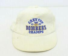 Vintage 1988 GREY CUP HAT CAP Winnipeg Blue Bombers Corduroy Snapback