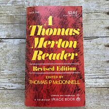 Vintage Catholic Book 1974 Thomas Merton Reader Paperback Religion Priest Estate