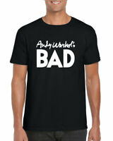 Andy Warhol's Bad T-Shirt, As Worn By Blondie Andy Warhol's Unisex Adult Top