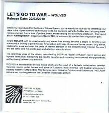 (BT3) Let's Go To War, Wolves - DJ CD