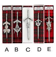 Scottish Kilt Pin 4 Traditional Highland Dress Skirt Kilts Pins Sporran Sporrans