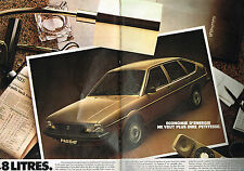 PUBLICITE ADVERTISING  1982   VOLKSWAGEN  PASSAT   formule E  ( 2 pages)