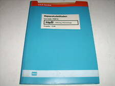 Workshop Manual VW Corrado Air Conditioning/Heating Stand 10/1988
