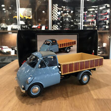 Schuco 1/18 Isocarro platform truck light blue 450008800