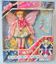 Sailor Moon S Super Sailor Moon Team doll butterfly Bandai JapanToei 1994 NRFB