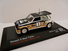 voiture 1/43 IXO altaya Rallye champions France RENAULT 5 Maxi TURBO 1986