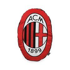 Cuscino arredo A.C. Milan sagomato ovale Ufficiale Q338