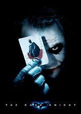 Batman The Dark Knight Movie Poster (24x36) - Bale, Heath Ledger, The Joker v3