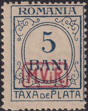 BG I.WK, MV Rumänien, Portomarken Mi.Nr. P 1, postfrisch, Kurzbefund Wasels BPP