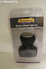 New Holland Deluxe Steering Wheel Spinner Knob for Tractors. Part # 73340101