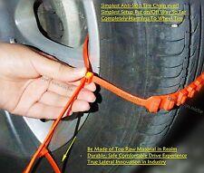 10 EasyUniversal Emergency Drive Traction Aids Car SUV Van Anti-Skid Tire Chains