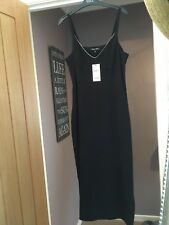 NEW Next Ladies Black Evening Dress Size 8 Tall