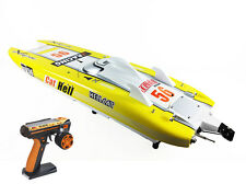 "G30E Artr-Rc 51""Fiberglass 30Cc Engine Radio Sys Shaft Rudder Exhaust Sys Yellow"
