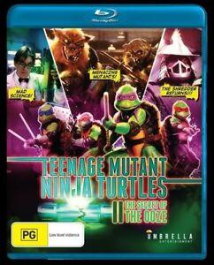 The Teenage Mutant Ninja Turtles 2 - Secret Of The Ooze.Brand New! Region A+B+C