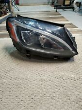 MERCEDES-BENZ C-CLASS C300  2016 RIGHT PASS SIDE LED HEADLIGHT Assembly OEM