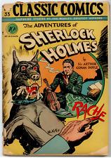 Classics Comics #33 ORIGINAL 1st EDITION - Sherlock Holmes  FR 1.0  Kiefer cover