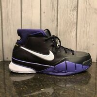 Men's Nike Kobe 1 Protro Purple Reign All Sizes Black Purple AQ2728 004