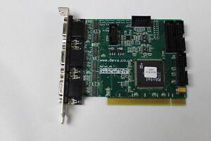 National Instruments Deva Electronics Controls 3 Axis Interface Card