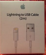 GENUINE 2M Lightning to USB Cable for iPhone, Plus, iPad  MOD#A1510  MD819ZM/A