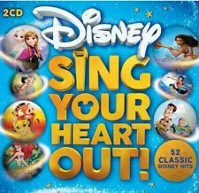52 classic hits Disney Sing Your Heart Out Soundtrack 2 x CD NEW