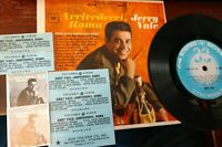 "JERRY VALE Jukebox 7"" COMPACT 33 STEREO EP Columbia 7-8755 Arrivederci MOB HITS"