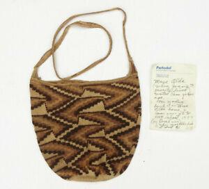 Antique Peruvian Peru Lima Hand Woven Fiber Bag - Lot 6