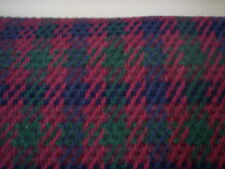 Vintage Multiple color woven fabric/Houndstooth fabric/Upholstery fabric/sewing