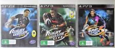 Rugby League Live, Rugby League Live 2 and Rugby League Live 3 PS3