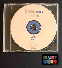 SEGA DREAMCAST DREAM ON DEMO DISC VOLUMEN 15
