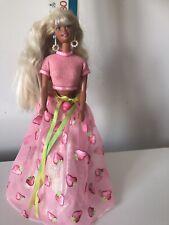 GRATIS Pearl 1959 anni 1960 Vintage riproduzione Bambola Barbie Orecchini Cerchi Oro