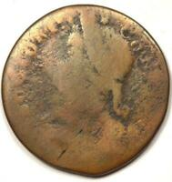 1787 Connecticut Draped Bust Colonial Copper Coin - Rarity 7 Variety (R7)!