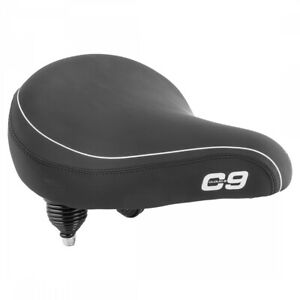 Cloud-9 Cruiser Contour Saddle C9 Soft Touch Vinyl Black