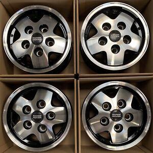 "Genuine Land Rover Range Rover Classic CSK LSE 16"" Diamond Cut Alloy Wheels x4"