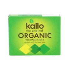 Kallo Vegetable Stock Cubes - Organic [60g] (4 Pack)