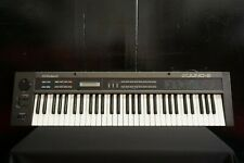 Roland Alpha Juno-2 Vintage Polyphonic Synthesiser - Faulty Aftertouch - 100V
