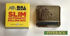 Bull Brand Slim Automatic Rolling Box / Tin for 6mm Filters High Quality
