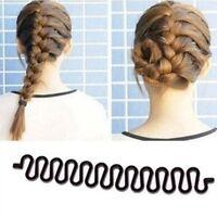 Women DIY Hair Styling Clip Stick Bun Maker Braid Tool Hair Accessories LrJNE