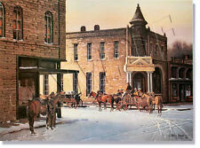 "*** ""WINTERTIME IN STEPHENVILLE"" LIMITED EDITION PRINT BY JAMES BOREN ****"