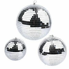 "6' 8'10"" Mirror Glass Disco Ball Dj Dance Home Party Bands Club Stage Lighting"
