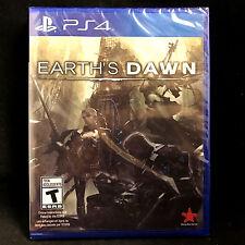 Earth's Dawn (Sony PlayStation 4, 2016) NEW